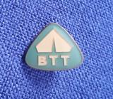 Insigna B.T.T. - Biroul de turism pt. tineret - BTT