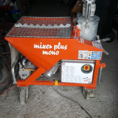 Vand masina de tencuit - MIXER PLUS MONO