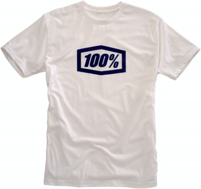 Tricou 100% Essential Alb marime M Cod Produs: MX_NEW 303014706PE foto
