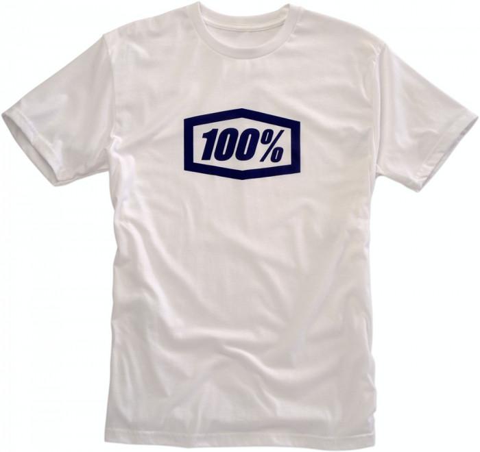 Tricou 100% Essential Alb marime M Cod Produs: MX_NEW 303014706PE
