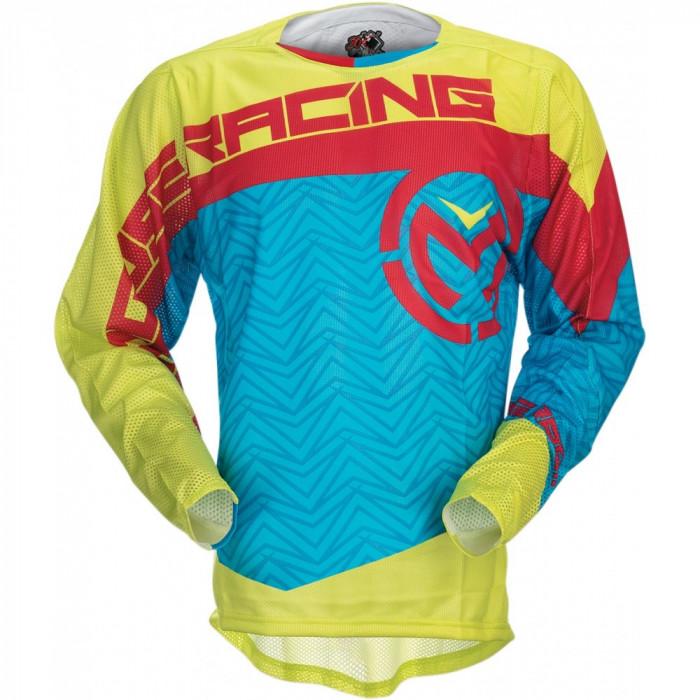 Tricou motocross Moose Racing S7S Sahara culoare albastru/galben/rosu marime S Cod Produs: MX_NEW 29104279PE foto mare