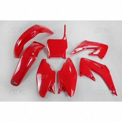 Kit plastice Honda CR 125-250 2005/2007 rosu Cod Produs: MX_NEW 14031239PE foto