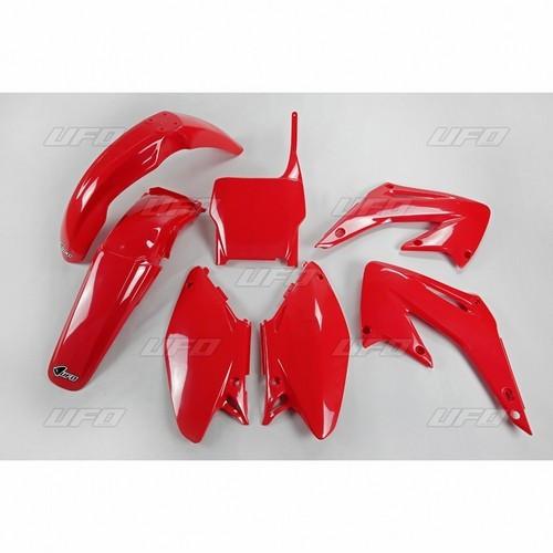 Kit plastice Honda CR 125-250 2005/2007 rosu Cod Produs: MX_NEW 14031239PE foto mare
