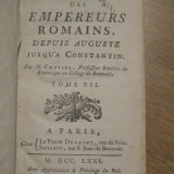 1771 - carte veche - Istoria Imparatilor Romani - Constantin - franceza - T. XII, Alta editura