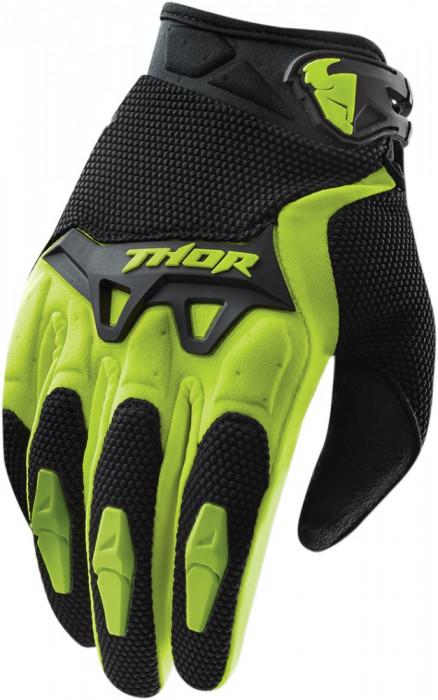 Manusi motocross Thor S15 Spectrum, verde/negru, S Cod Produs: MX_NEW 33303098PE