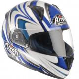 Casca Integrala Airoh Leox Split culoare alba/albastra marime L Cod Produs: MX_NEW LXSP18L