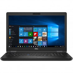 Laptop Dell Latitude 5590 15.6 inch FHD Intel Core i5-8350U 8GB DDR4 500GB HDD FPR Windows 10 Pro Black 3Yr NBD