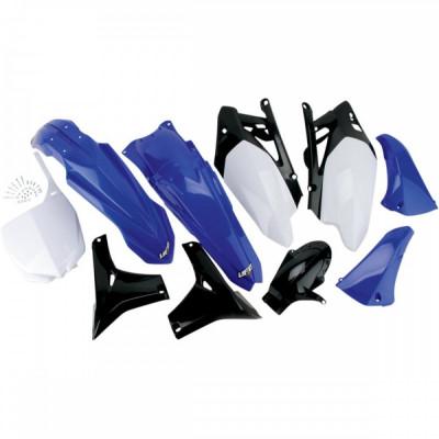 Kit plastice Yamaha YZF450 2010, albastru/alb/negru, culoare OEM Cod Produs: MX_NEW 14030613PE foto