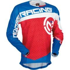 Tricou motocross Moose Racing S7 Sahara culoare albastru/alb/rosu marime L Cod Produs: MX_NEW 29104016PE foto