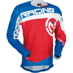 Tricou motocross Moose Racing S7 Sahara culoare albastru/alb/rosu marime L Cod Produs: MX_NEW 29104016PE foto mare