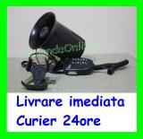Sirena Politie 6 melodii cu microfon - CRR-IT specific Politiei AL-TCT-622