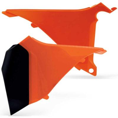 Laterale portocalii filtru aer KTM SX & EXC 2T 2011 Cod Produs: MX_NEW KT04026127 foto