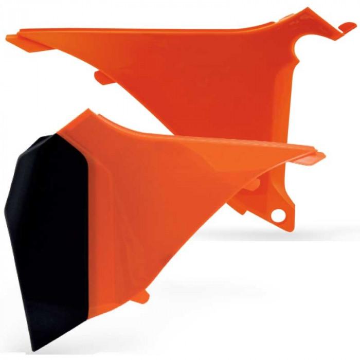 Laterale portocalii filtru aer KTM SX & EXC 2T 2011 Cod Produs: MX_NEW KT04026127 foto mare
