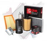 Pachet filtre revizie BMW Seria 5 (E34) 540 I V8 286 CP (09.1992 >) CLEAN FILTERS - set filtru aer, ulei, combustibil, polen