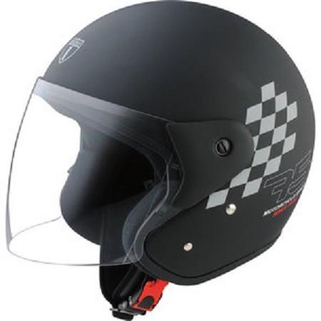 Casca semi integrala Highway 1 Dx2 Edition 75 marime XS culoare negru mat Cod Produs: MX_NEW 20307101LO foto mare