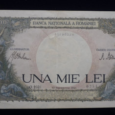 1000 lei 10 septembrie 1941