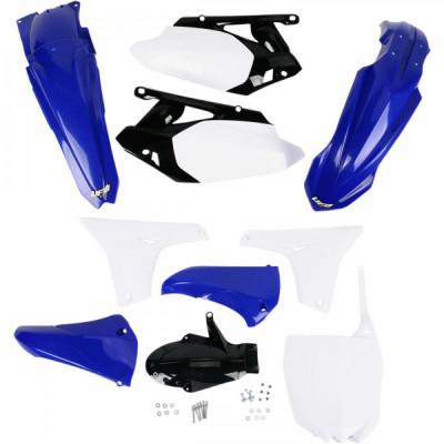 Kit plastice Yamaha YZF 450 11, albastru/alb, culoare OEM Cod Produs: MX_NEW YAKIT311999 foto