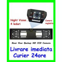 Suport Numar cu CAMERA Marsarier cu Night Vision Led-uri AL-080817-16