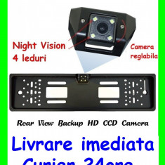 Suport Numar cu CAMERA Marsarier cu Night Vision Led-uri AL-080817-16