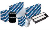 Pachet filtre revizie BMW Seria 5 (E39) 540 I 286 CP (04.1996 >) BOSCH - set filtru aer, ulei, combustibil, polen