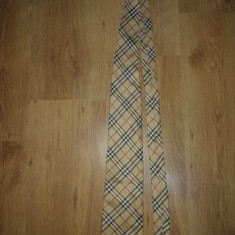 Cravată autentica Burberry din matase, Culoare: Din imagine