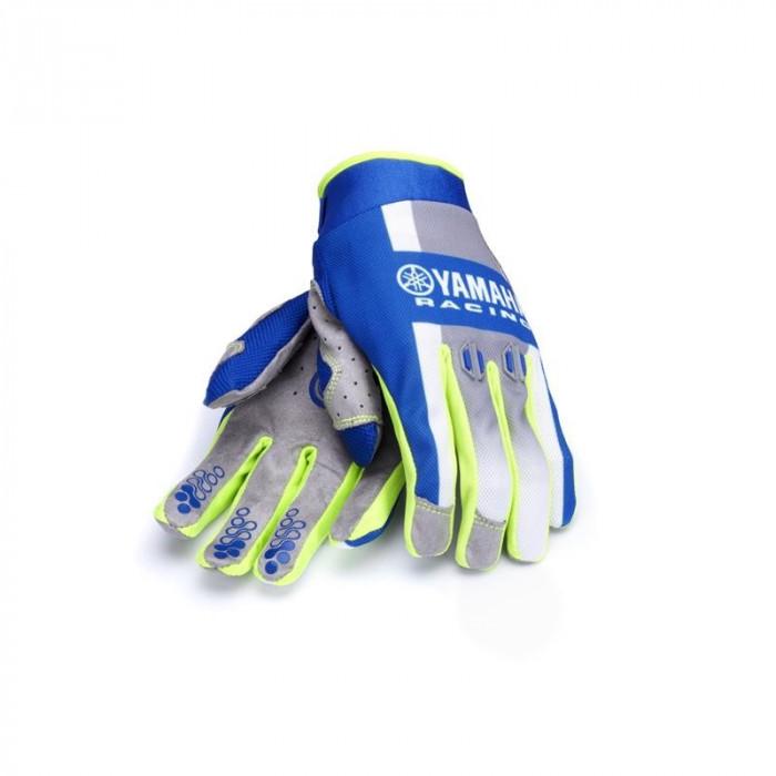 Manusi motocross Yamaha Racing culoare albastru deschis/alb marime 2XL Cod Produs: MX_NEW A18RG104E72LYA