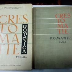 CRESTOMATIE ROMANICA  - Iorgu IORDAN - 2 volume
