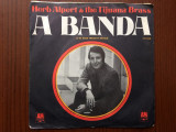 Herb alpert the tijuana brass a banda miss frenchy brown single disc vinyl jazz, VINIL, A&M rec