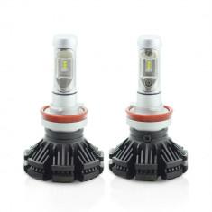 H8 LED pt faruri 12-24V - 4000 Lumeni Super White Carguard