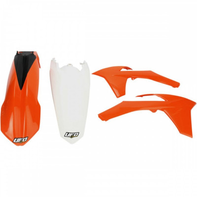 Kit plastice KTM EXC 2012, culoare originala Cod Produs: MX_NEW 14030901PE foto