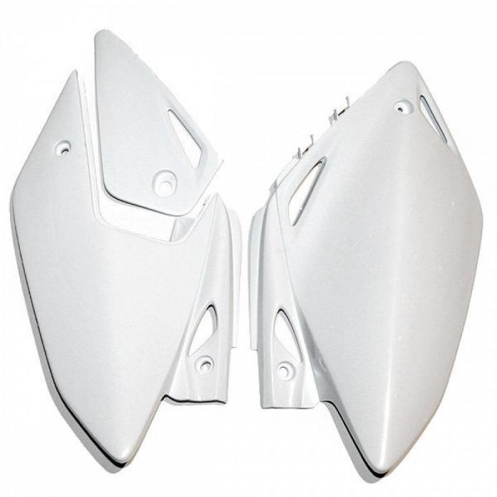 Laterale spate Honda CRF450X 2005-10, alb Cod Produs: MX_NEW 05200314PE foto mare