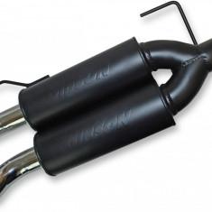 Final evacuare dublu Gibson X Side negru ceramic Polaris Cod Produs: MX_NEW 18310631PE