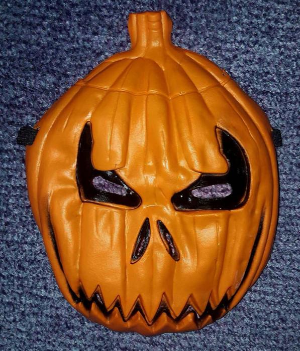 Masca Halloween forma de bostan pentru copii