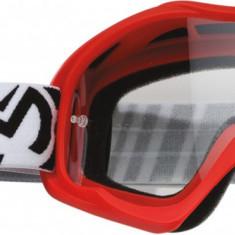 Ochelari motocross copii Moose Racing Qualifier, rosu, sticla clara Cod Produs: MX_NEW 26011901PE