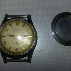 Vand ceas vechi de mana de colectie, ceas antic ALOSA 15 Jewels, antimagnetic, ceas - Ceas de mana
