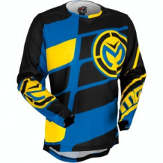 Tricou motocross copii Moose Racing M1 culoare albastru/galben/negru marime XL Cod Produs: MX_NEW 29121448PE - Imbracaminte moto