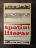 SPATIUL LITERAR -MAURICE BLANCHOT