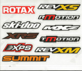 Set abtibilde Ski Doo Cod Produs: MX_NEW 516006297SK