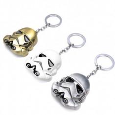 Breloc diferite culori  Star Wars Stormtrooper Metalic + ambalaj  cadou