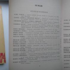 Tibiscus 1974-Muzeul Banatului Timis-Arta populara stare buna.