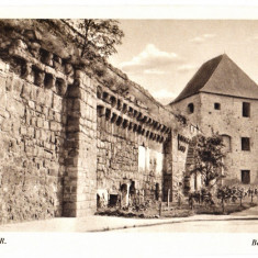 Cluj Kolozsvar, zidul cetatii, Bethlen bastya-Bastionul croitorilor 1940 - Carte Postala Transilvania dupa 1918, Necirculata, Printata, Cluj Napoca