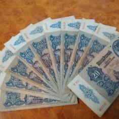 Lot 10 bancnote de 20 Pengo circulate dar in stare buna, Europa