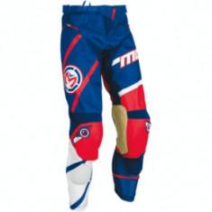 Pantaloni motocross copii Moose Racing M1 culoare rosu/alb/albastru marime 28 Cod Produs: MX_NEW 29031494PE - Imbracaminte moto