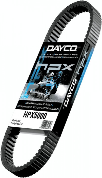 "Curea snowmobil 1244,6 mm (49"") Dayco HPX Cod Produs: MX_NEW 11420367PE foto mare"