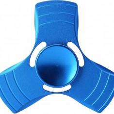 Fidget Spinner Lemontti Aluminiu Albastru