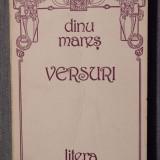 Dinu Mareș - Versuri (prefață de Mihai Șora)