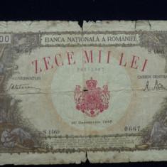 10000 LEI 20 DECEMBRIE 1945