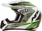 Casca Cross/ATV AFX FX-17 Factor culoare alb perlat verde marime XS Cod Produs: MX_NEW 01104516PE