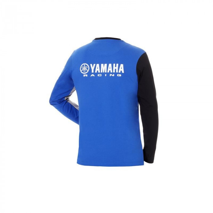 Tricou Yamaha Racing culoare albastru/negru masime 3XL Cod Produs: MX_NEW B18FT112E13LYA foto mare
