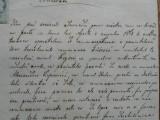 DOCUMENT 1866, MIC SIGILIU SI TIMBRU 50 KR
